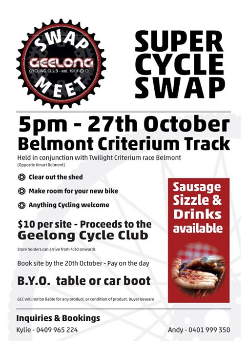 Geelong Cycle-Swap Meet