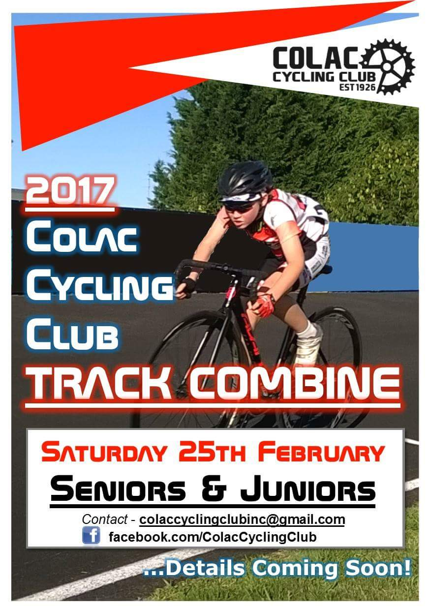 Colac Cycling Club Track Combine @ South Colac Sports Club